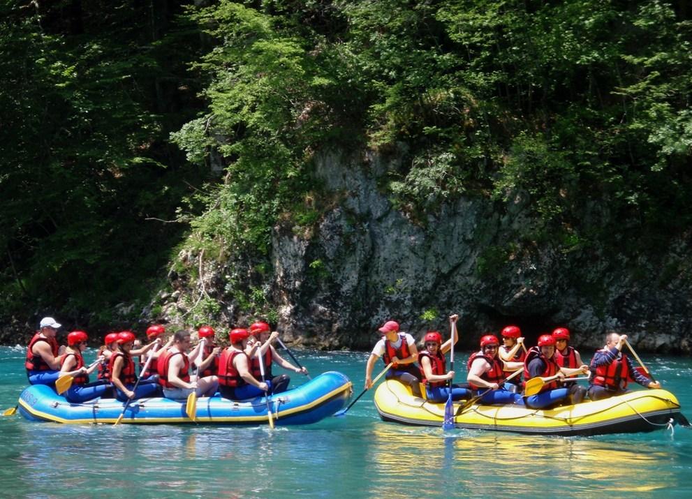 Savršen vikend na reci Tari - rafting iz snova